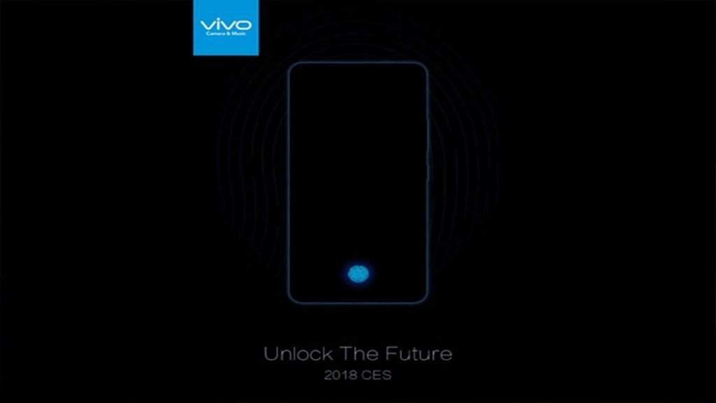 Vivo reveals the Vivo X20 Plus UD, beating Apple in the use of an optical fingerprint scanner - 1