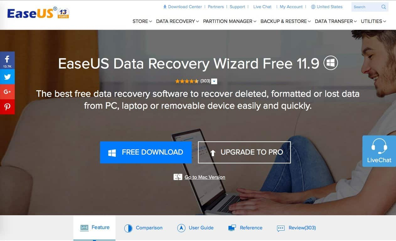 EaseUS Data recovery Wizard: One Tool to Recover All Your Files! - 2