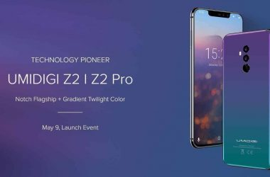 UMIDIGI Z2 Pro & Z2 Announced: Will Be Launched On May 9 - 8