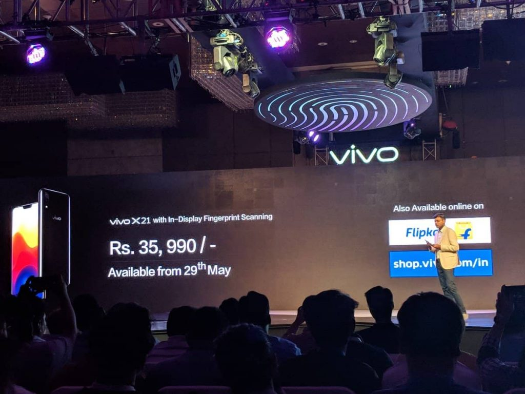Vivo X21 With In-Display Fingerprint Scanner Launched In India - 1