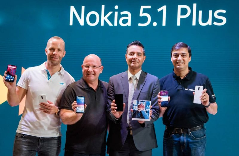 HMD Global has launched Nokia 6.1 Plus and Nokia 5.1 Plus in the Indian market - 4