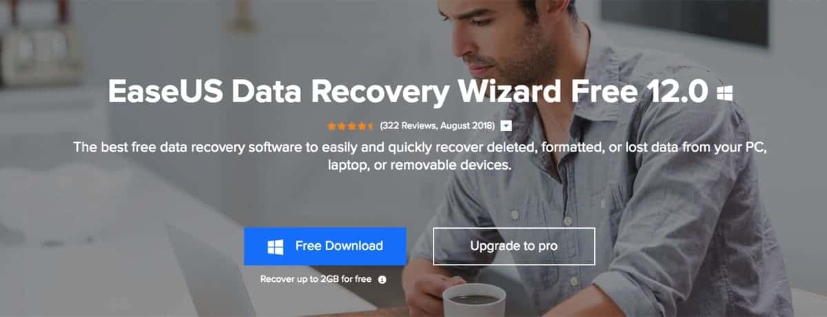 EaseUS Data Recovery Wizard 12.0 - The Free Version | Review - 1
