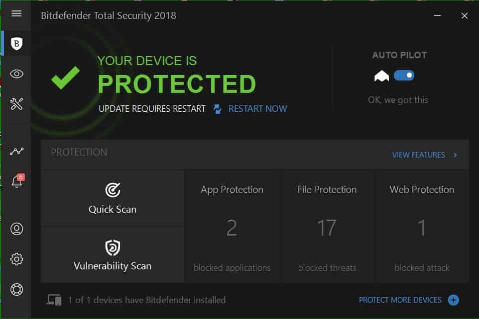 I'm Sticking To Bitdefender Total Security 2018, Here's Why! - 1