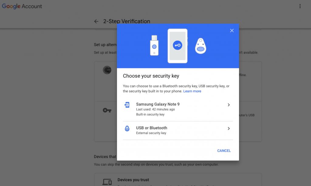 Now You can Use Your Android Phone as a Security Key to Logon Google - 1