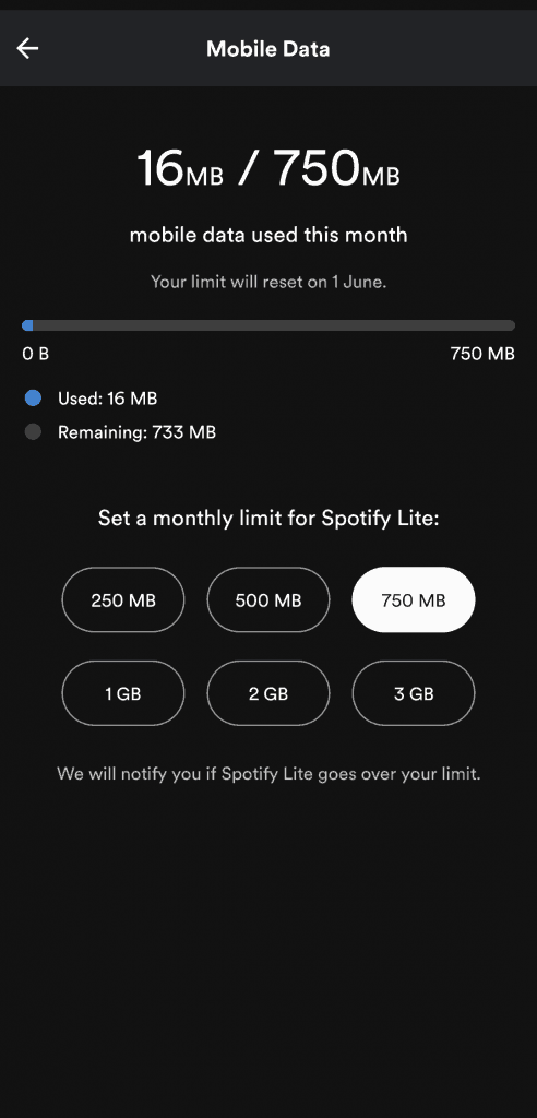 Spotify Lite Launched in India - 5