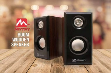 Mercury Boom Wooden Speaker Launched – Features & Price - 11