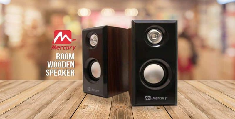 Mercury Boom Wooden Speaker Launched – Features & Price - 4