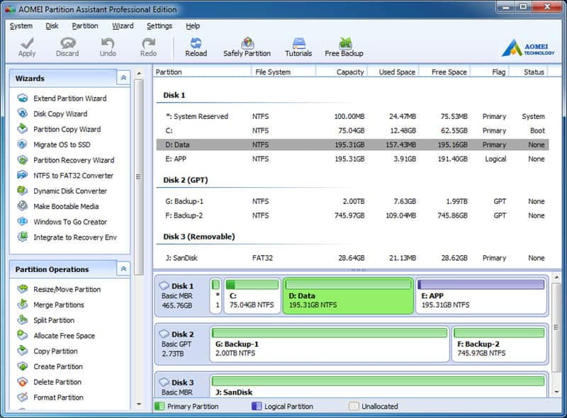 Top 5 best free disk management software tools for Windows - 10