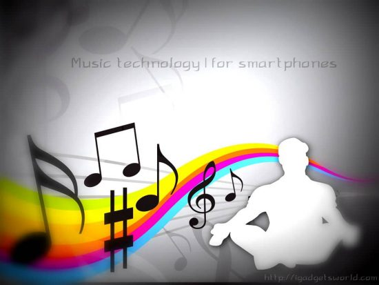 Music Technologies for SmartPhones | concept - 1