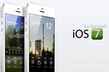 iOS 7: Unveiled: A Quick review of Redesigned iOS 7 - 10
