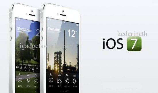 iOS 7: Unveiled: A Quick review of Redesigned iOS 7 - 1