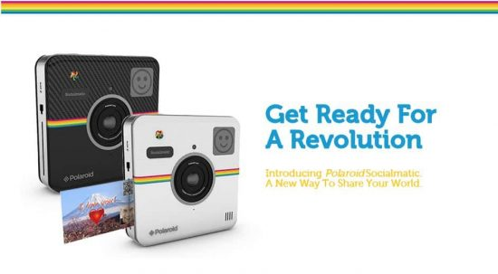Polaroid announces Socialmatic: the all new Android powered camera+printer - 1