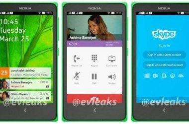 Nokia Android phone - Normandy - leaked by Evleaks - 3