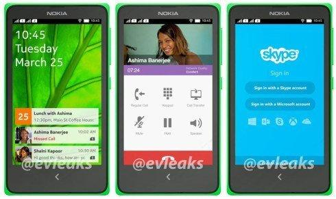 Nokia  Android phone - Normandy - leaked by Evleaks - 2