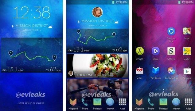 Samsung's new Touch UI revealed: may be available on S5 - 2