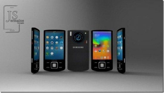 """Samsung Galaxy Innov8 concept with """"smart"""" slider and 2 OS - 1"""