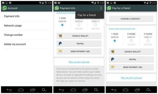 WhatsApp introduces 'Pay for friend' with a new update - 1