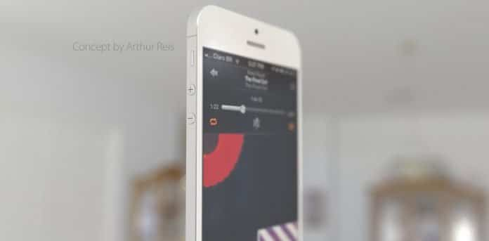 Apple Iphone 6 concept with touchpad by Designer Arthur Reis - 9