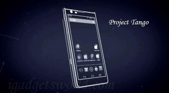 Map the world around you with a smartphone - Google's Project Tango - 1