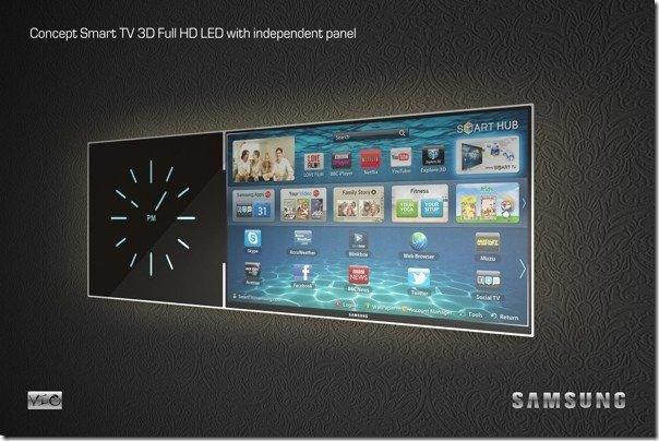 Samsung's Smart Tv with independent panel-concept by Vladimir Ogorodnikov - 10