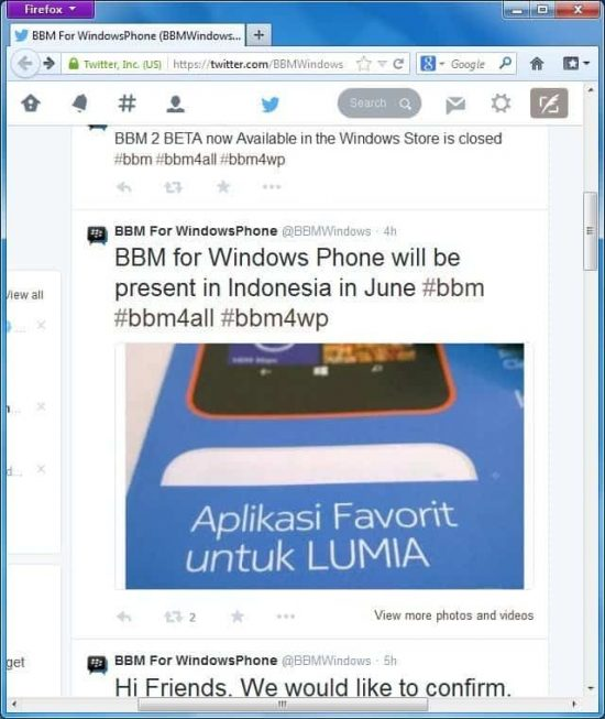 BBM for Windows phone coming soon (June)! - 1