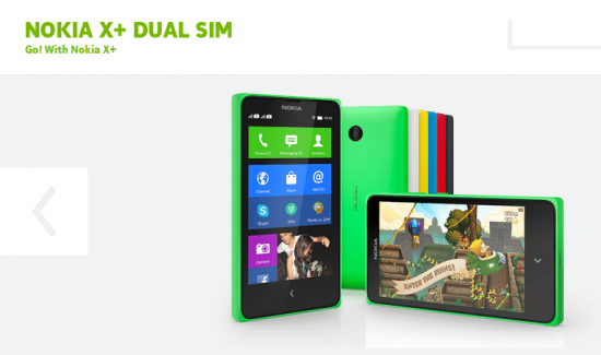 The latest of X series: The Nokia X+ - 1