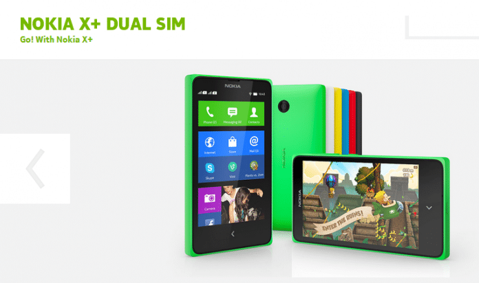 The latest of X series: The Nokia X+ - 2