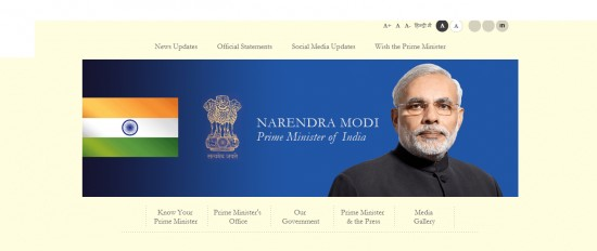 Narendra Modi promises 'Gloriouis future' in the newly launched PM India website - 1