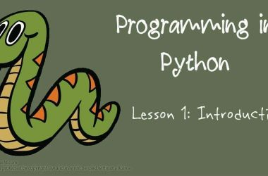Programming in Python: Introduction - 3
