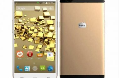 Micromax launches it's first flagship phone: Micromax Canvas Gold A 300 - 3