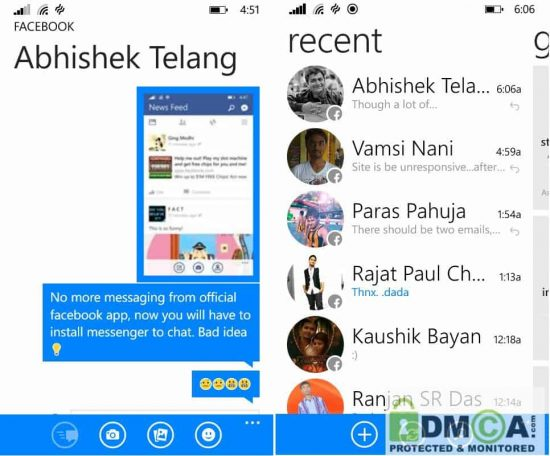 Facebook now forcing users to install Facebook Messenger for chatting on the move - 1