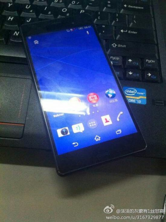 Sony Xperia Z3 real pictures leaked (Sony Xperia Z3 L55t) - 1