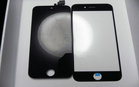 Apple iPhone 6 Leaked images shows huge carved Glass screen - 1
