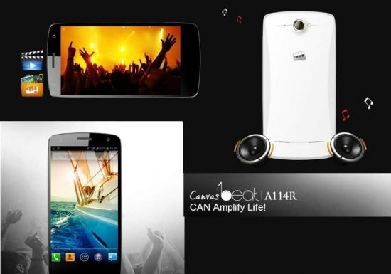Micromax Canvas Beat: Launched exclusively on Aircel - 1
