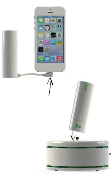 Word's fastest smartphone charger Petalite Flux works with any micro USB or Apple Lighting connector