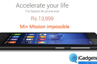 Make a confirm booking of Xiaomi Mi3, going for sale on August 26th from Flipkart - 3