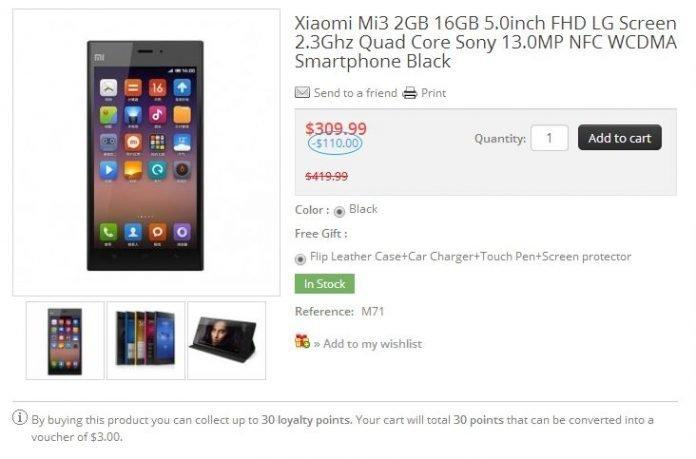Buy Xiaomi Mi3: Alternative method to flipkart - 2