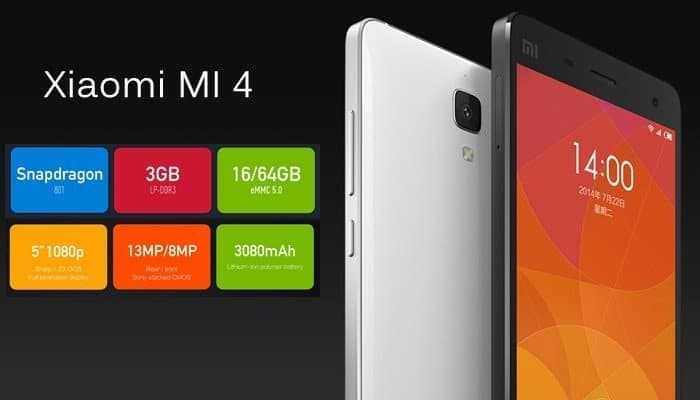Xiaomi Mi4 in flipkart soon