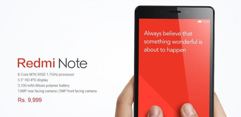 Xiaomi Redmi Note Buy