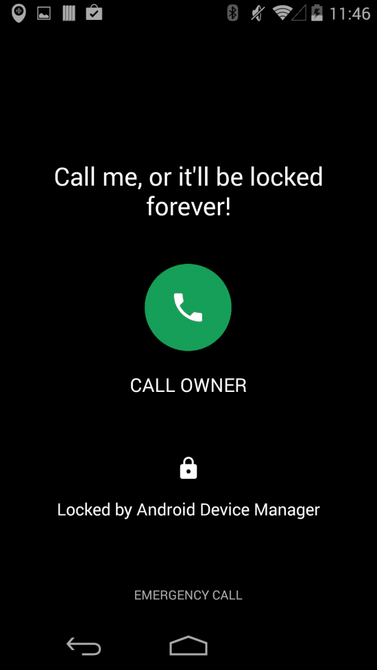 Get your lost Android phone back, now it can call you back - 1