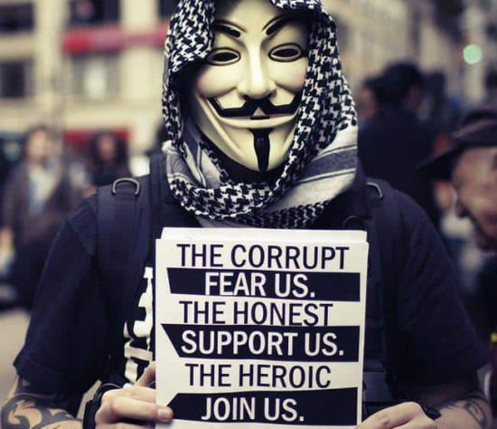 Anonymous strikes again and this time the target is Israel - 1