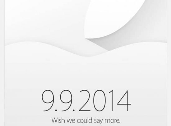 Apple's next iPhone event confirmed to take place on september 9th - 1