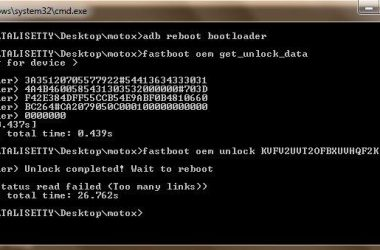 Moto X: How to Unlock Moto X bootloader | Android 4.4.4 - 2