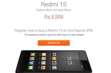 Buy Xiaomi Redmi 1s: Best tips and tricks to order Redmi 1s on Sep 2nd - 3