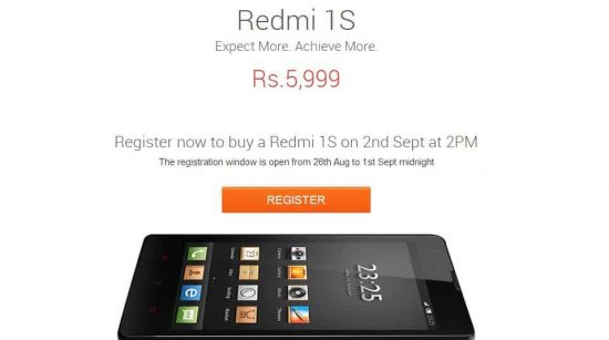 Buy Xiaomi Redmi 1s: Best tips and tricks to order Redmi 1s on Sep 2nd - 1