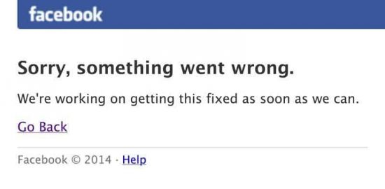 Facebook goes down for many people around the world - 1