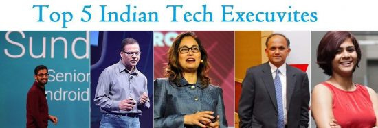 Top 5 Indian tech executives, who are changing the way we see our world - 1