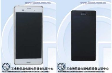 Sony Xperia Z3 (Xperia Z3 L55t-chinese version) real specs revealed by TENNA certification - 2
