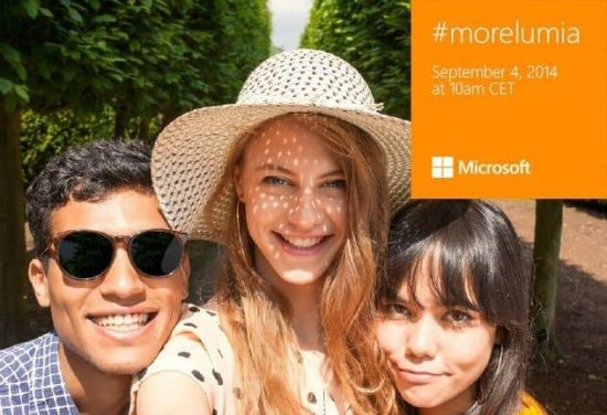 IFA 2014: watch online Nokia and Microsoft's #MoreLumia live event [stream online] - 1