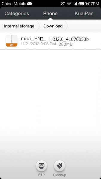 Redmi 1s Stock rom flash_2